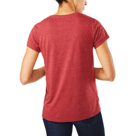 Dakine Da MTN S/S Tech T Women Heather Burgundy